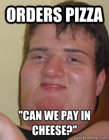 Orders Pizza