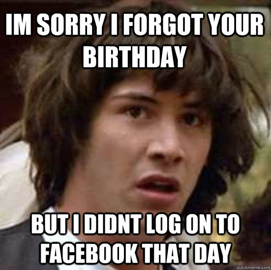 Image result for forgot your birthday gif