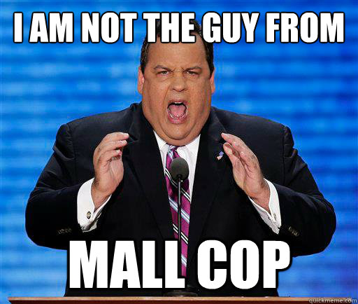 I am not the guy from Mall Cop
