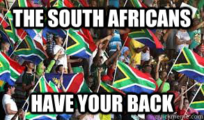 The South Africans Have your back - The South Africans Have your back  Misc