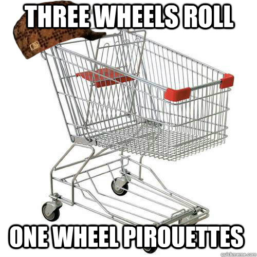 Three wheels Roll One wheel Pirouettes