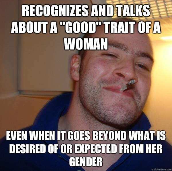 recognizes and talks about a