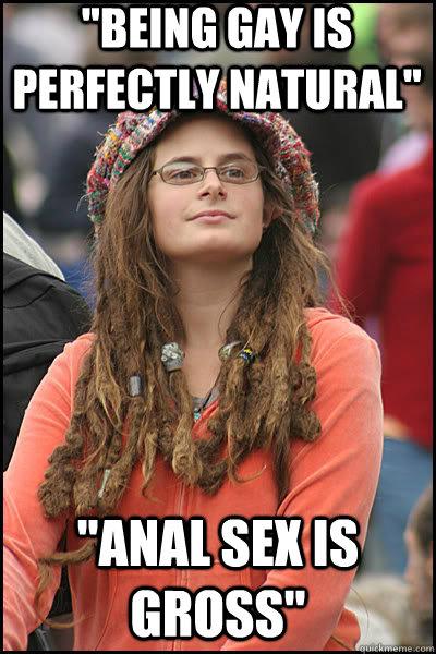 Anal sex is gross