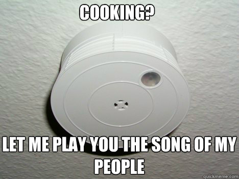 Let me play you the song of my people Cooking?