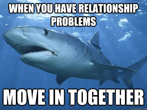 relationship problems after moving in together