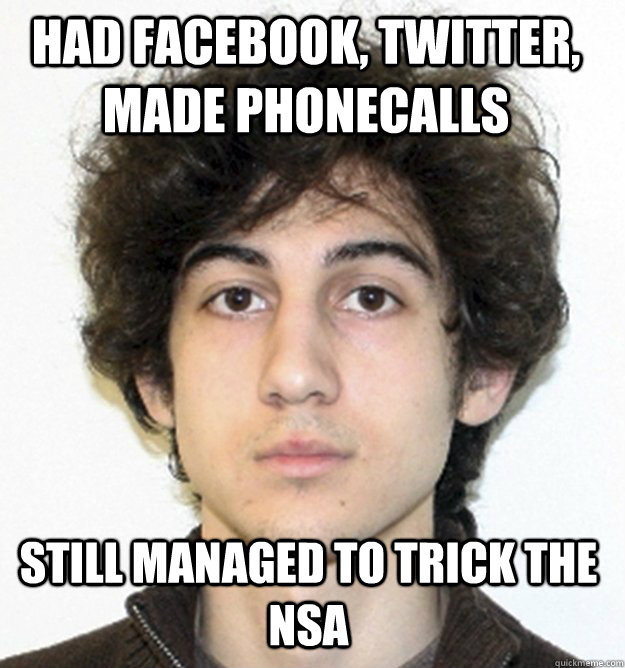 had Facebook, twitter, made phonecalls still managed to trick the NSA - had Facebook, twitter, made phonecalls still managed to trick the NSA  Misc