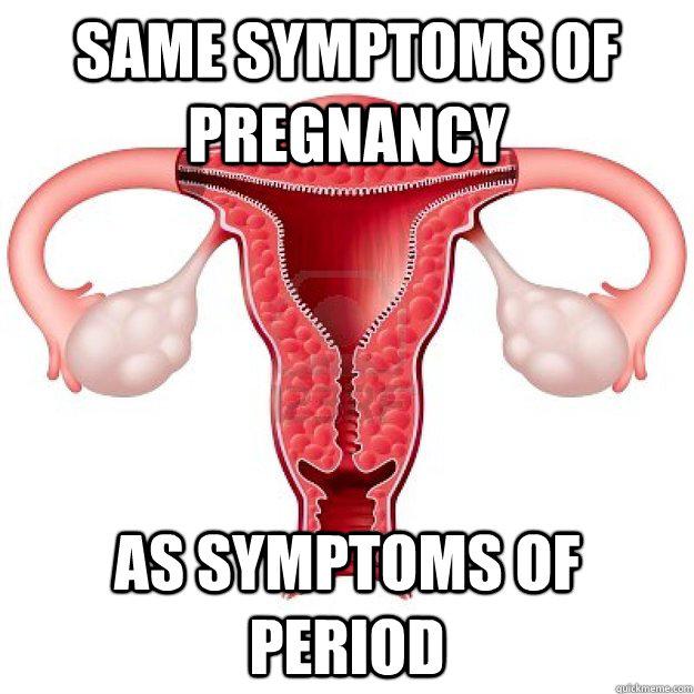 same symptoms of pregnancy  as symptoms of period - same symptoms of pregnancy  as symptoms of period  scumbag organs