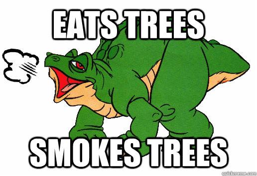 eats trees smokes trees - eats trees smokes trees  Stoner Spike