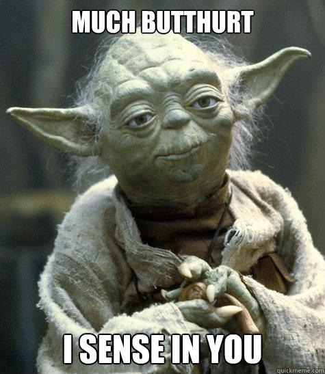 Yoda Butthurt memes | quickmeme
