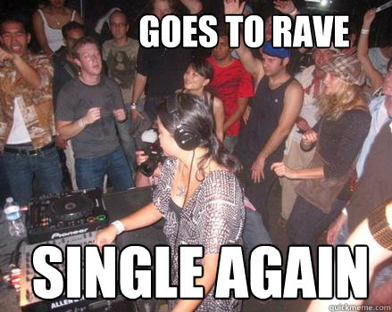 goes to rave single again