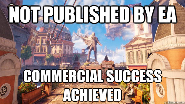 NOT PUBLISHED BY EA COMMERCIAL SUCCESS ACHIEVED - NOT PUBLISHED BY EA COMMERCIAL SUCCESS ACHIEVED  Misc
