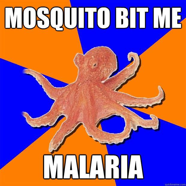mosquito bit me  malaria