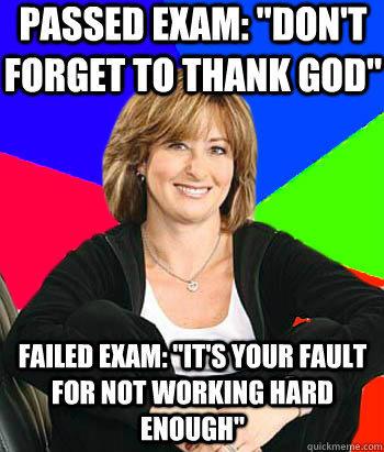 Passed exam:
