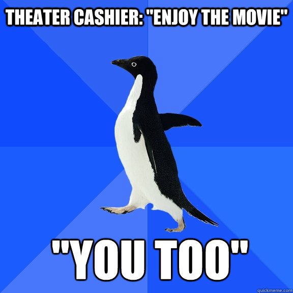 Theater Cashier: