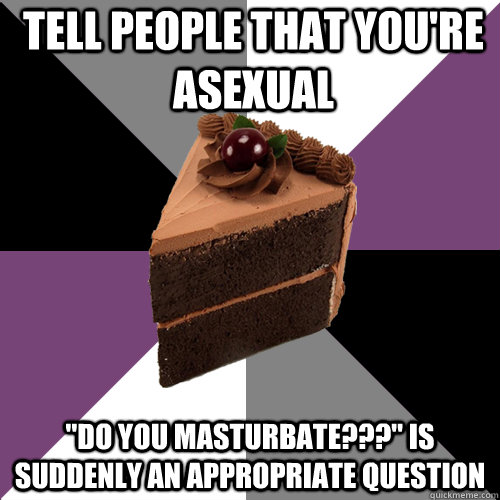 Tell people that you're asexual