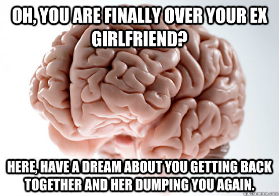 how do you get over your ex girlfriend