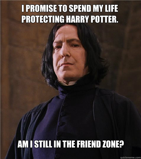 Funny Harry Potter Snape Memes : I promise to spend my life protecting harry potter am
