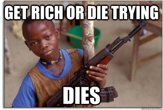 Get rich or die trying dies