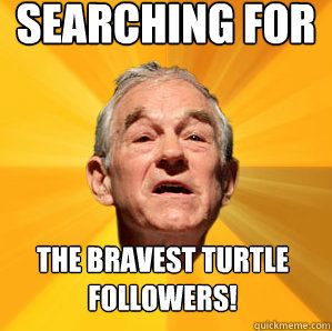 Searching for the bravest turtle followers!