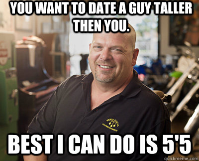 You want to date a guy taller then you.  Best I can do is 5'5