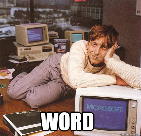 WORD  Dreamy Bill Gates