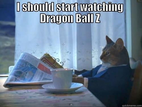 Just Saiyan... - I SHOULD START WATCHING DRAGON BALL Z  The One Percent Cat