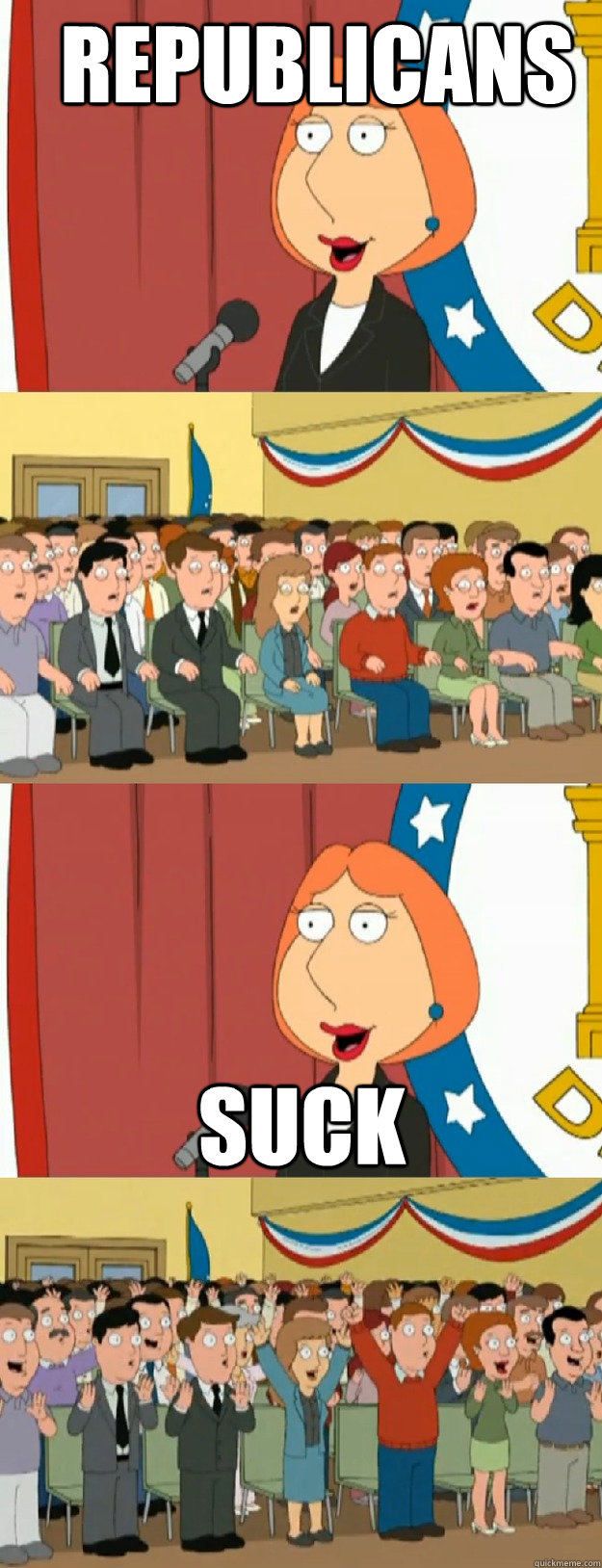 republicans suck - republicans suck  Lois Griffin