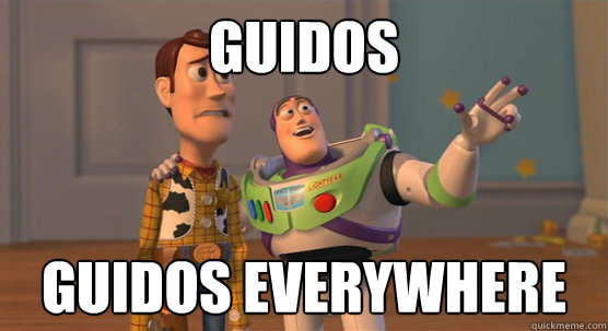 Guidos Guidos everywhere - Guidos Guidos everywhere  Toy Story Everywhere