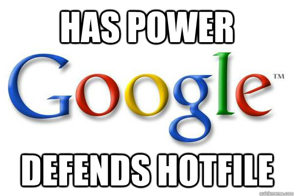 has power defends Hotfile - has power defends Hotfile  Good Guy Google