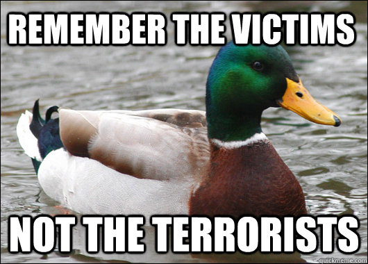Remember the victims not the terrorists - Remember the victims not the terrorists  Misc