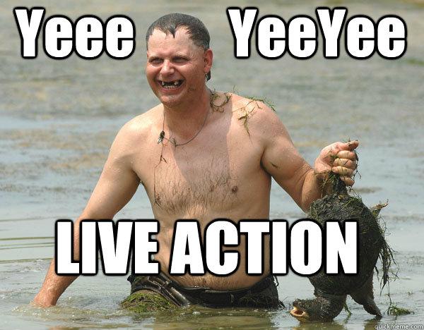 Yeee         YeeYee LIVE ACTION