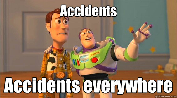 Accidents  Accidents everywhere   lambdas everywhere