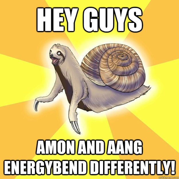 Hey Guys Amon and Aang energybend differently!