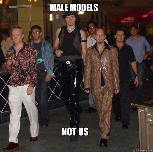 Male models Not us