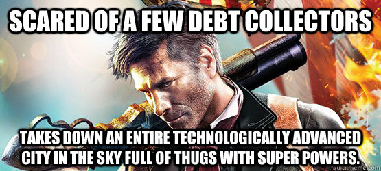 Scared Of A Few Debt Collectors Takes Down An Entire Technologically