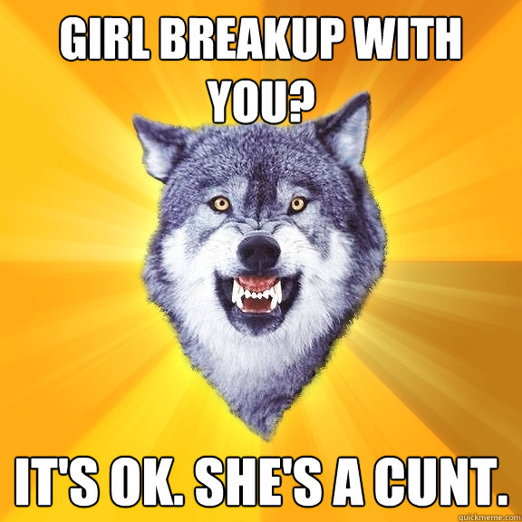 courage to break up