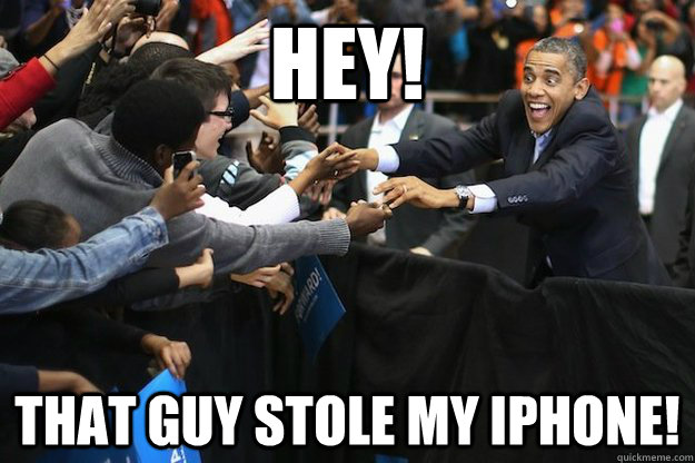 HEY! That guy stole my iphone! - HEY! That guy stole my iphone!  Misc
