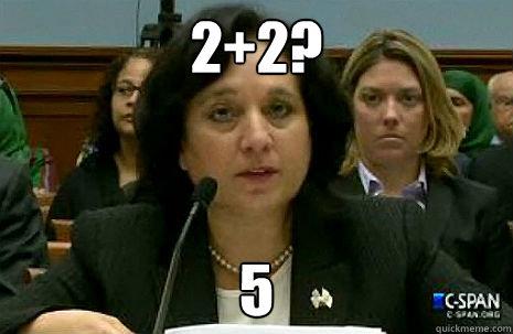 2+2? 5 - 2+2? 5  Clueless DEA Administrator