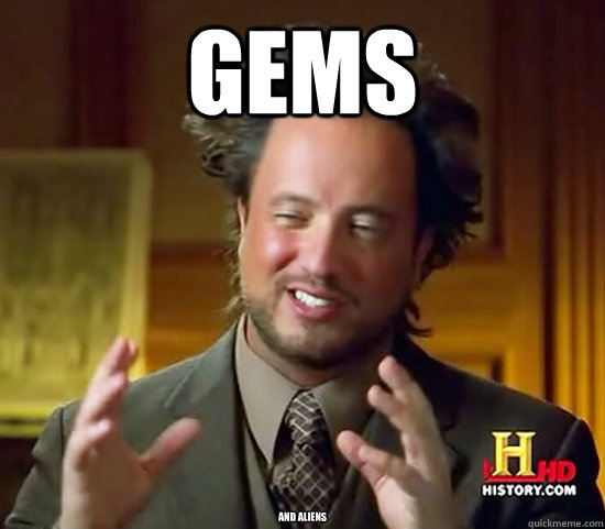 Gems and aliens - Gems and aliens  Ancient Aliens