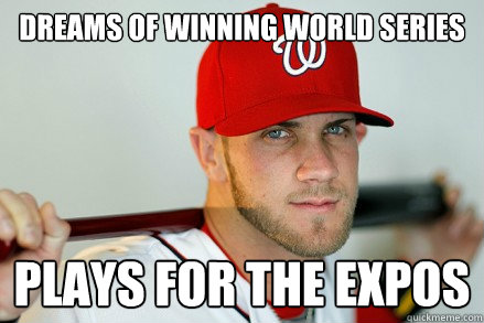 81fd1946b41b10c1c177e3e2c498b0b5c92fda2704de00a0c64dfe333a917521 dreams of winning world series plays for the expos bryce harper