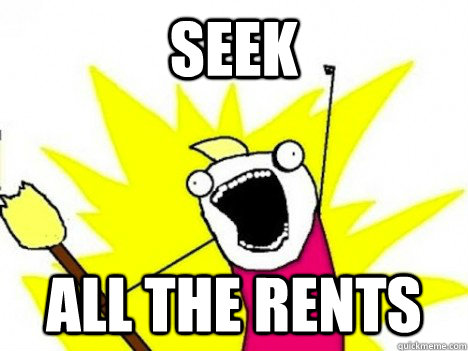 seek ALL THE rents