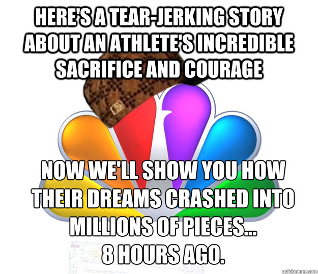 Here's a tear-jerking story about an athlete's incredible sacrifice and courage Now we'll show you how their dreams crashed into millions of pieces... 8 hours ago.