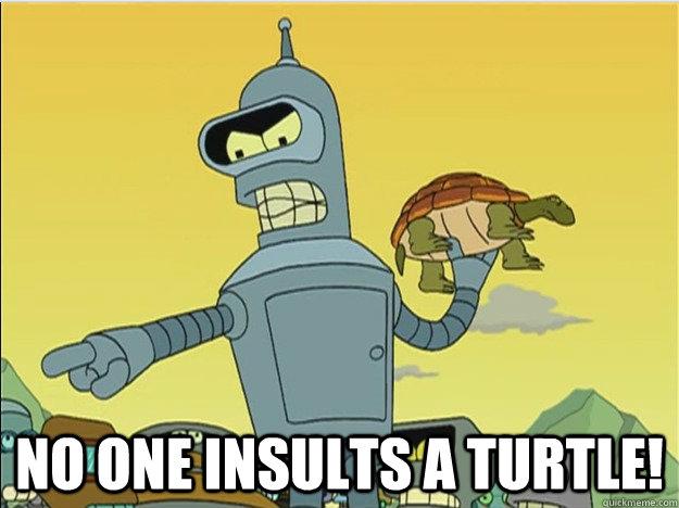 no one insults a turtle! -  no one insults a turtle!  Misc