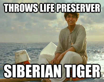 Throws Life Preserver Siberian Tiger  - Throws Life Preserver Siberian Tiger   Misc