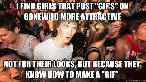I find girls that post
