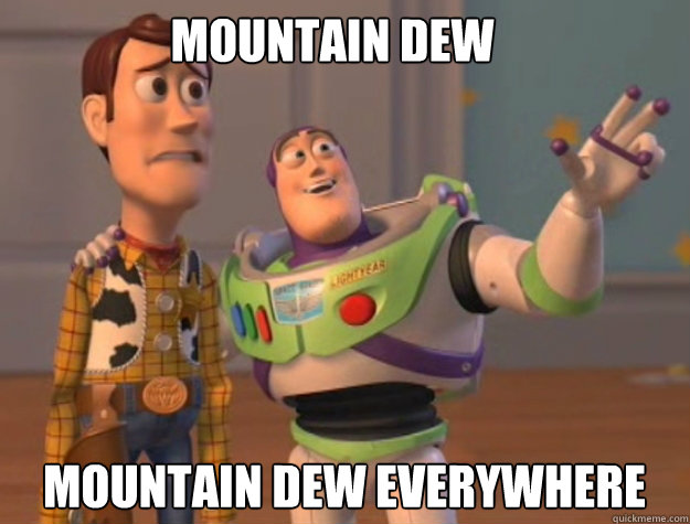 Mountain Dew Mountain Dew Everywhere