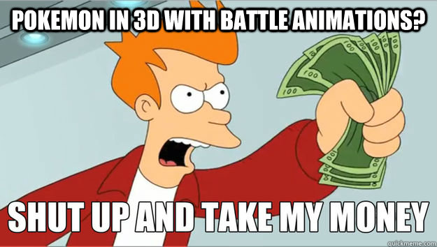 Pokemon in 3d with battle animations?