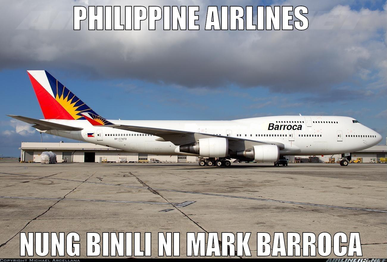 Airline ni Mark Barroca - PHILIPPINE AIRLINES NUNG BINILI NI MARK BARROCA Misc
