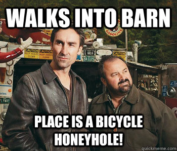 american pickers frank dating danielles place