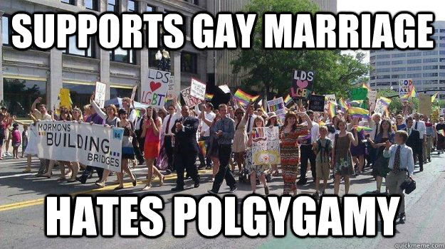 gays who hate pride venture